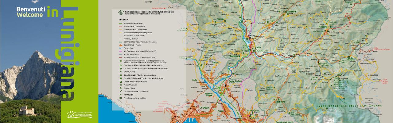mappa lunigiana