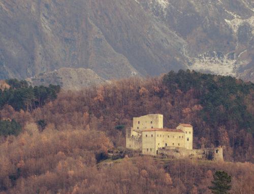 Die Burg Aquila von Gragnola- Fivizzano
