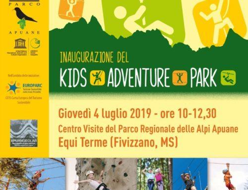 Inaugurazione area bambini alle Grotte di Equi