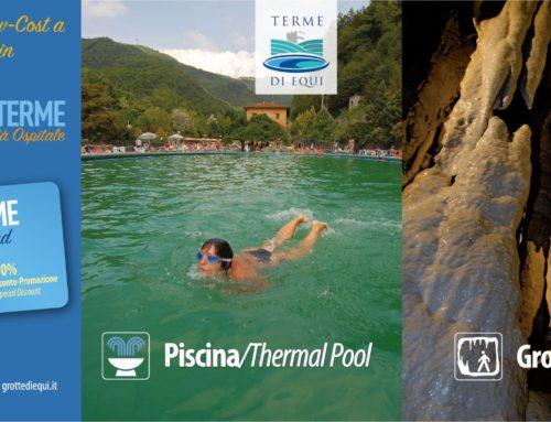Equi Terme Special Card 2019: ingresso scontato alle Grotte e in Piscina